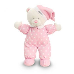 Personalised Pink Goodnight Bear