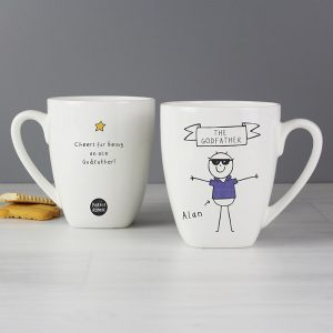 Personalised Purple Ronnie Cool Dude Latte Mug