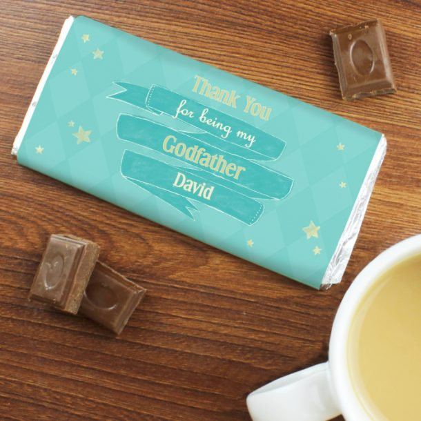 Personalised Shining Star Milk Chocolate Bar