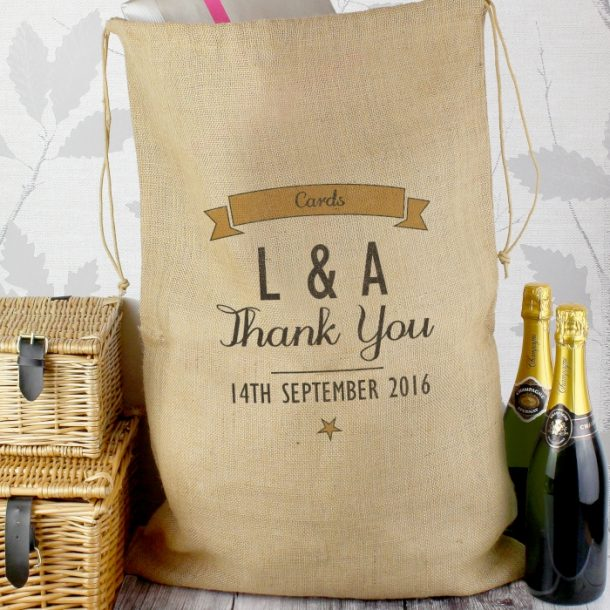 Personalised Special Occasion Parcel Sack