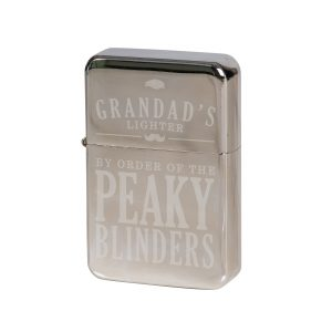 Personalised Peaky Blinders Silver Lighter