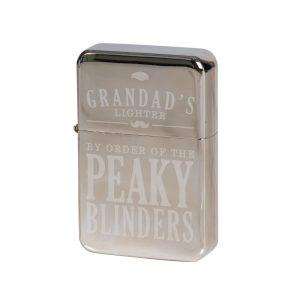 Personalised Peaky Blinders Silver Lighter