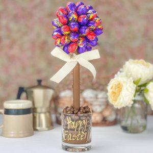 Personalised Cadbury's Creme Egg Sweet Trees
