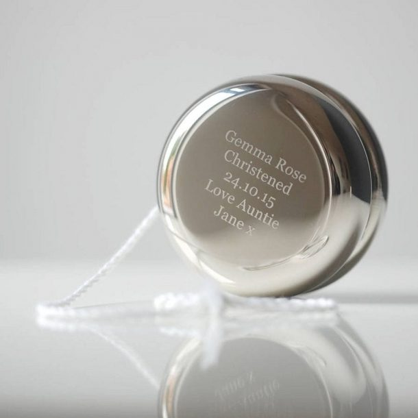 Personalised Christening Yoyo