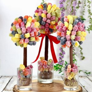 Personalised Jelly Baby Sweet Trees