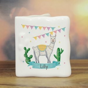 Personalised Llama Fiesta Message Card