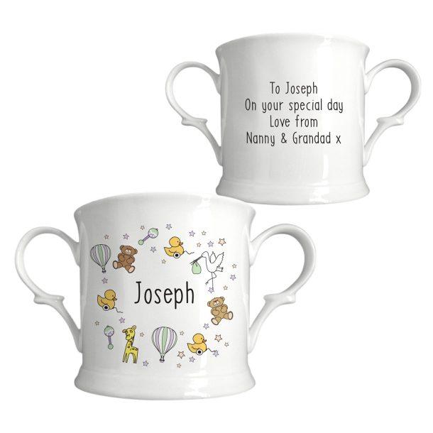 Personalised Nursery Scene Loving Cup