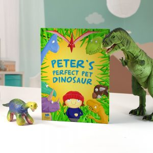 Personalised Perfect Pet Dinosaur - Softback Book