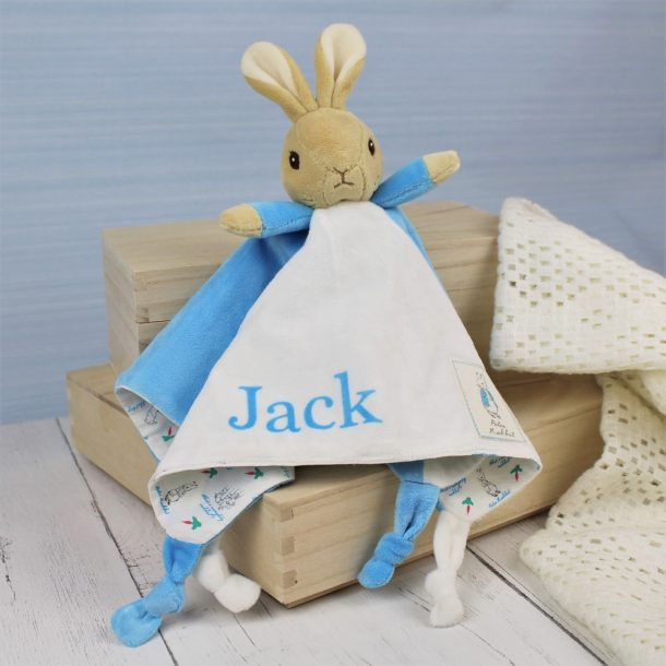 Personalised Peter Rabbit Snuggle Blanket