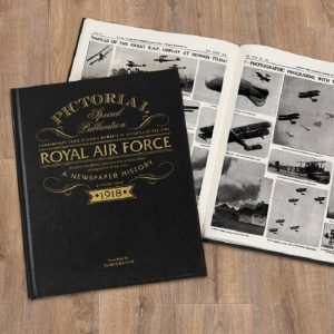 Personalised RAF Pictorial Newspaper book