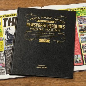 Personalised A3 Horse Racing Book