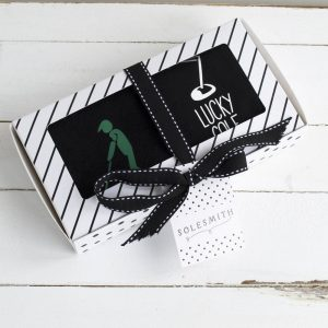 Lucky Golf Socks & Gift Box
