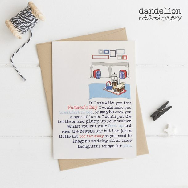 Luxury Hand Made Father's Day Cards