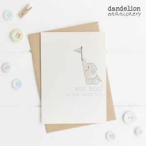 Luxury New Baby Boy Cards