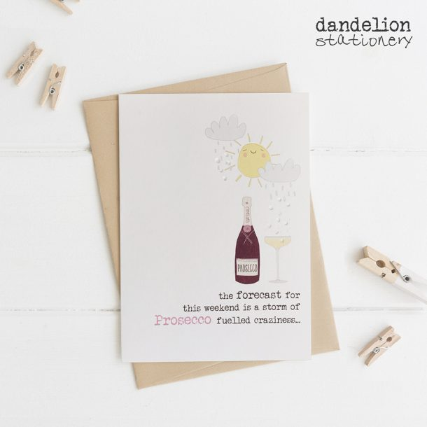 Luxury Prosecco Fuelled Birthday Cards