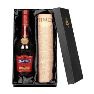Martell Cognac & Original Newspaper Giftset