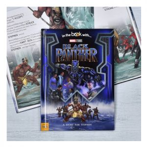 Personalised Black Panther Marvel Story Book
