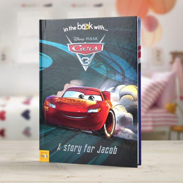 Personalised Disney Cars 3 - Softback Book