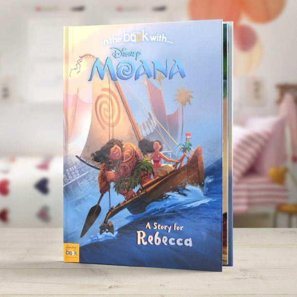 Personalised Disney Moana - Hardback Book