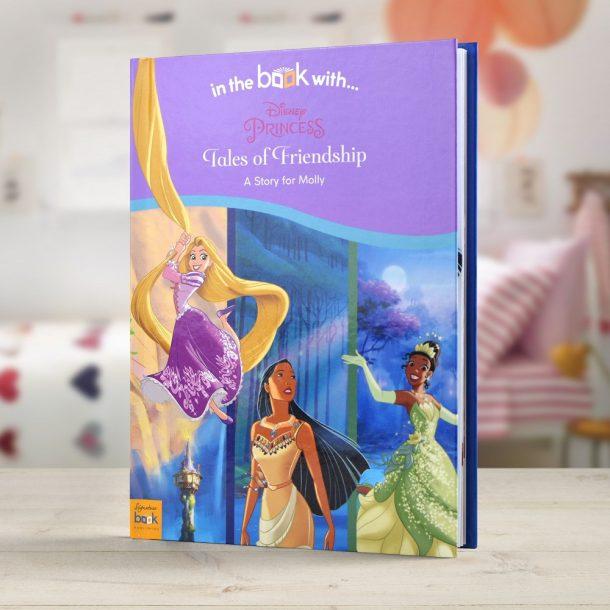 Personalised Disney Princess Tales of Friendship - Hardback Book