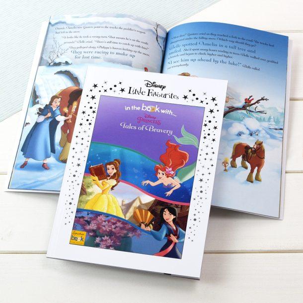 Personalised Disney Princesses Tales of Bravery Book