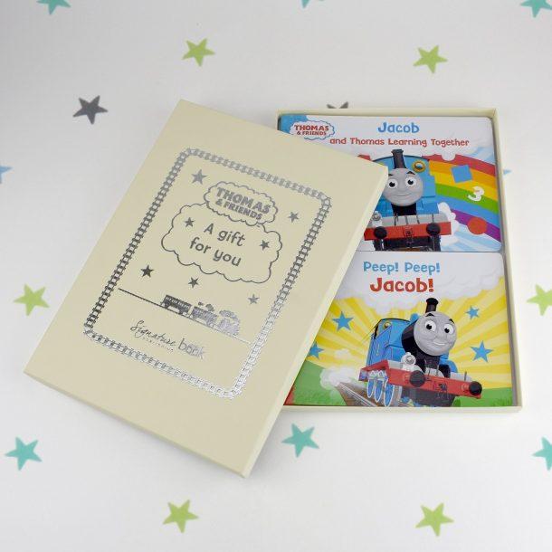 Personalised Dual Box-set Thomas & Friends Board Books