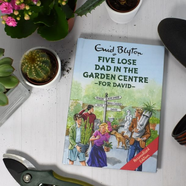 Personalised Five Lose Dad in the Garden Centre Book