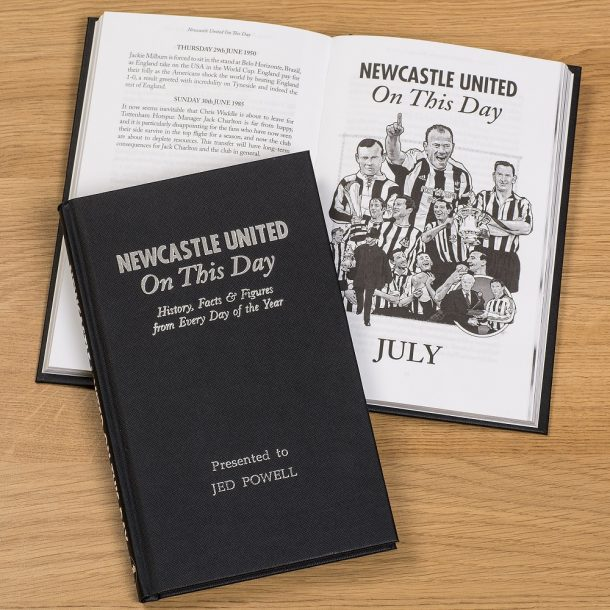 Personalised Football Book - On This Day