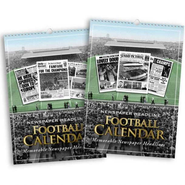 Personalised Football Team Calendar