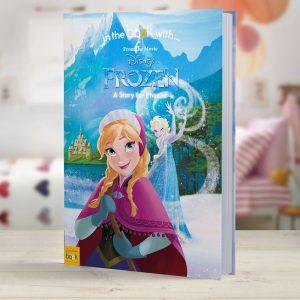 Personalised Frozen - Softback Book