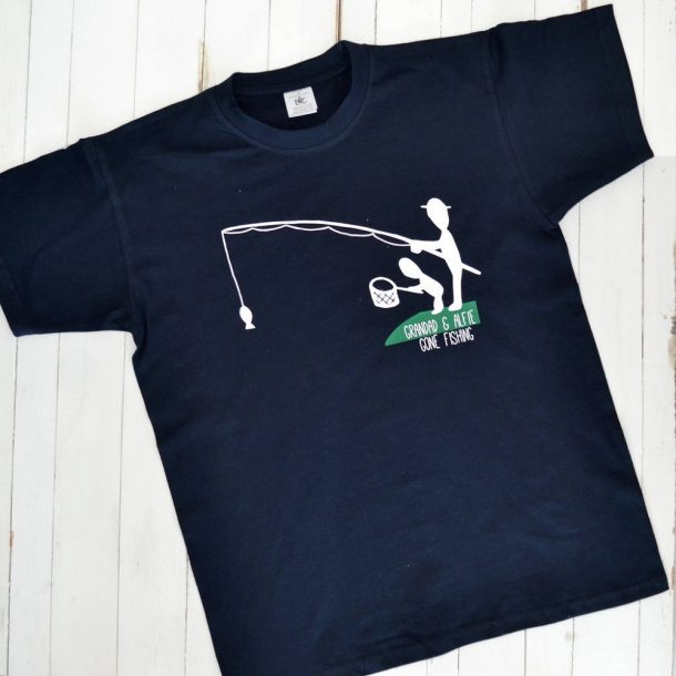 Personalised Gone Fishing T-Shirt