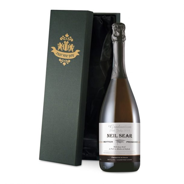 Personalised Graduation Prosecco & Gift Box