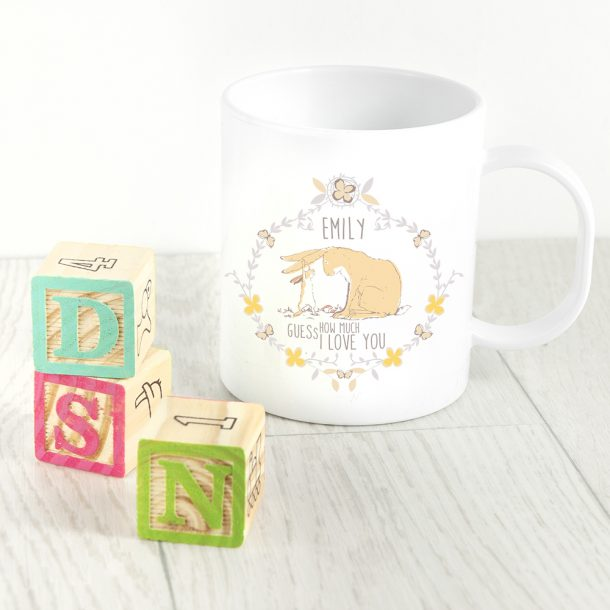 Personalised Guess How Much I Love You Mug