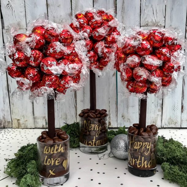 Personalised Lindor Sweet Trees
