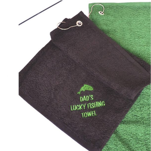 Personalised Lucky Fishing Towel