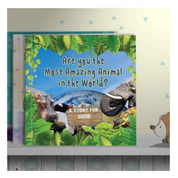 Personalised Most Amazing Animal - Softback Book