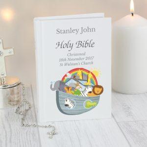 Personalised Noah's Ark Holy Bible