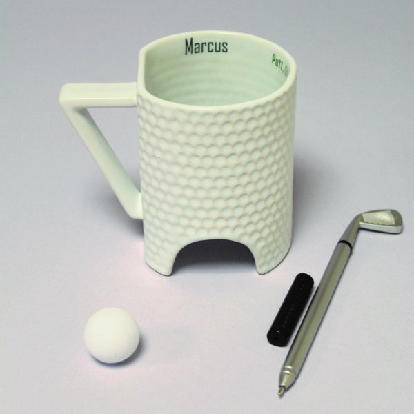 Personalised Novelty Golf Mug