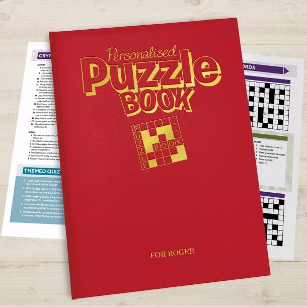 Personalised Puzzle Book - A4 Deluxe Version