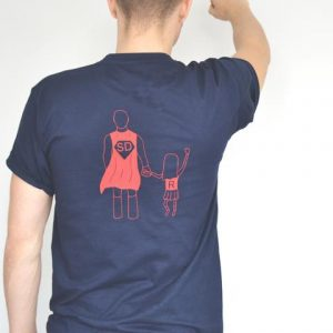 Personalised Super Dad T-Shirt