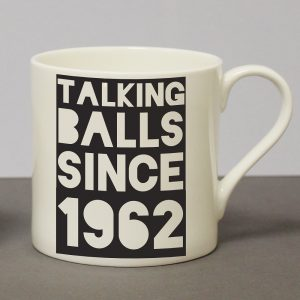 Personalised Talking Balls Since Chunky Mug