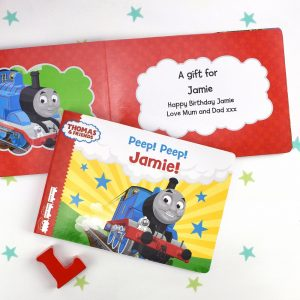 Personalised Thomas and Friends Peep Peep Book