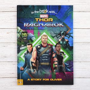 Personalised Thor Ragnarok - Softback Book