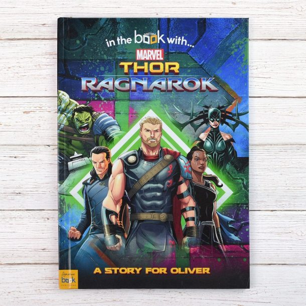 Personalised Thor Ragnarok - Softback Book
