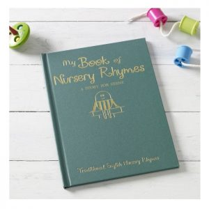 Personalised Children's Nursery Rhymes Hardback Book