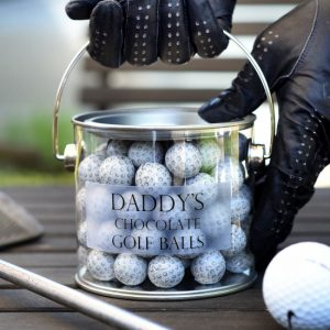 Personalised Chocolate Golf Balls