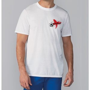 Personalised England Flag Men's T-Shirt