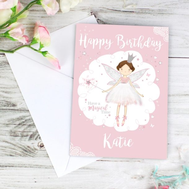Personalised Fairy Princess Cards