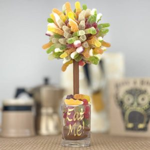 Personalised Fizzy Haribo Sweet Trees