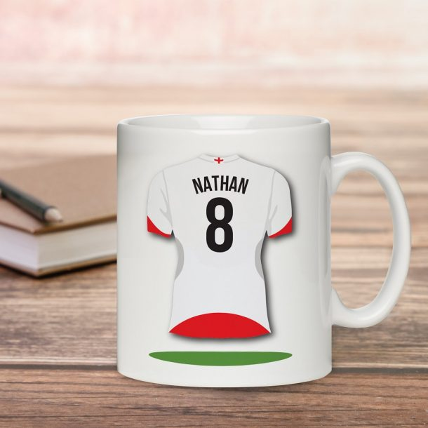 Personalised Football Shirt Sub Mug